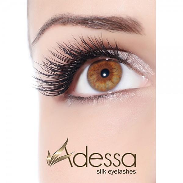 Adessa silk eyelashes Poster Motiv #1, offenes Auge, DIN A1
