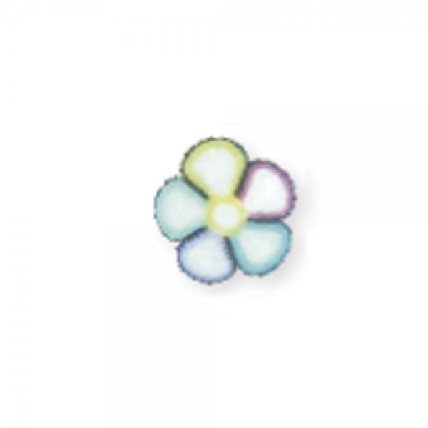 fimo flower, lollipop