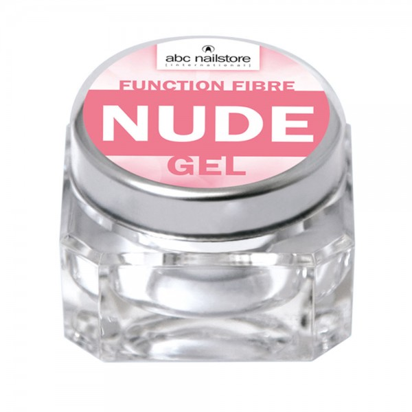 abc nailstore function fibre nude gel, 15 g