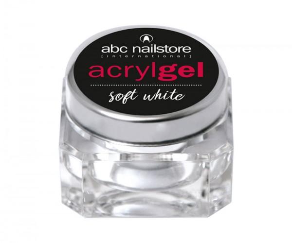 abc nailstore Acrylgel soft white, 15 g