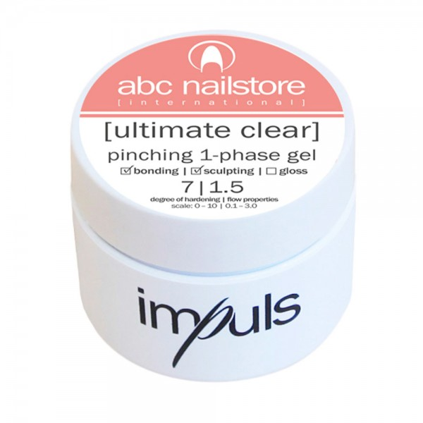 impuls ultimate clear, pinching 1-phase gel, 5 g