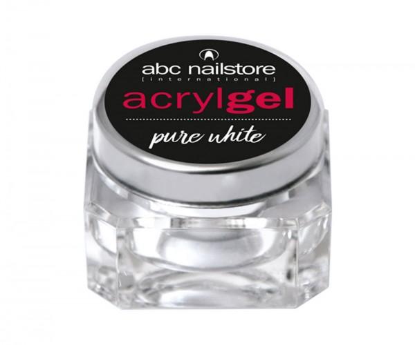 abc nailstore Acrylgel pure white, 15 g