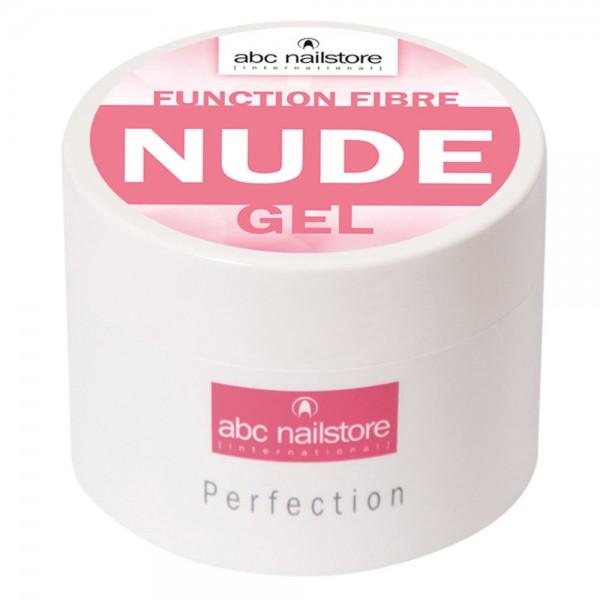 abc nailstore function fibre nude gel, 100 g