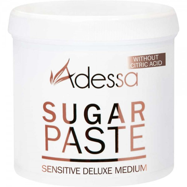 Adessa soft sugaring Zuckerpaste sensitive deluxe medium, ohne Zitrone, 1000g