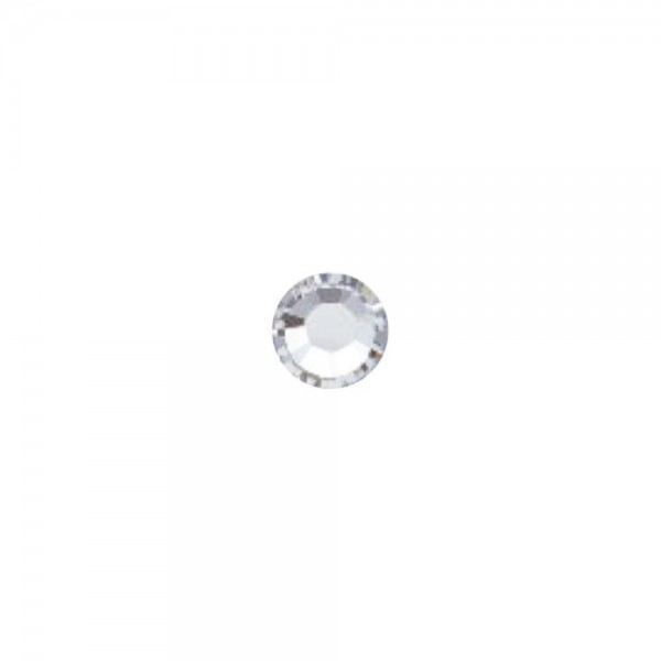 Strass-Steine SS3 crystal silver, 50 Stck