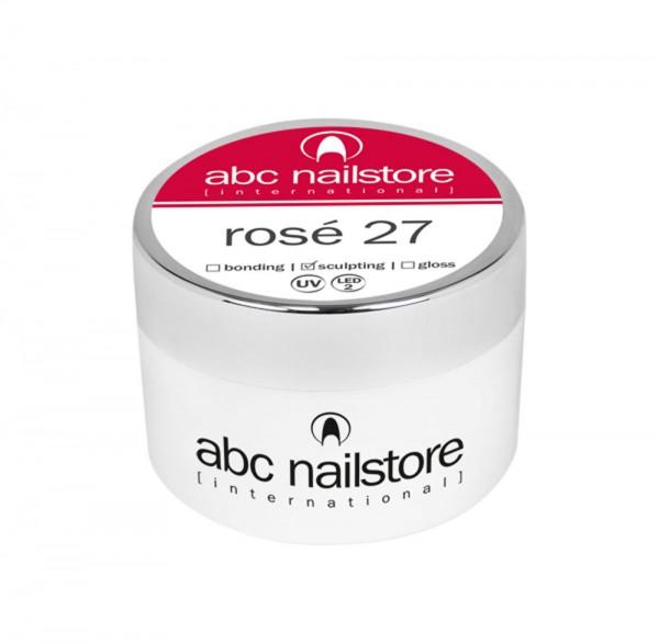abc nailstore Modellagegel 27 rosé, 15 g