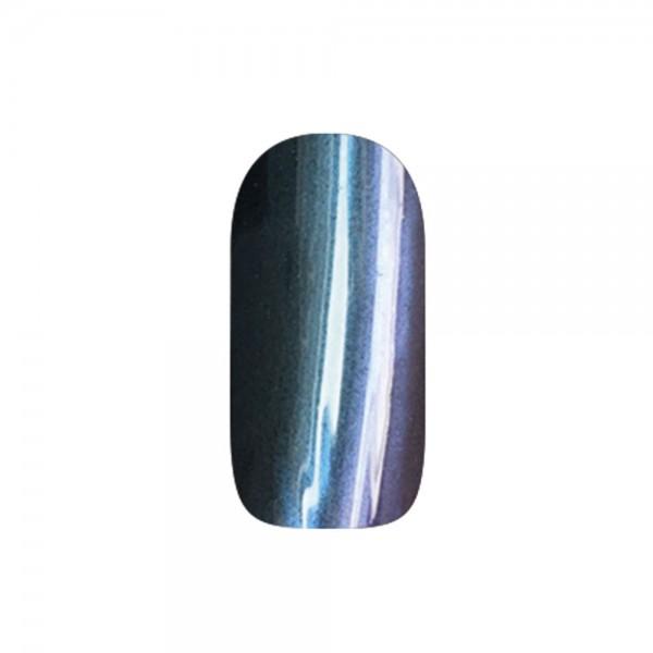 abc nailstore chrome powder flip flop: blue-red #204, 2 g