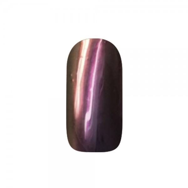 abc nailstore chrome powder flip flop: fuchsia-gold #202, 2 g