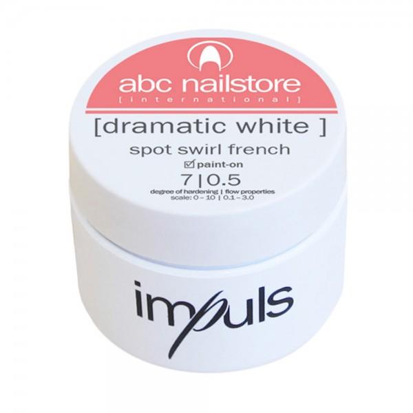 Impuls Dramatic White, French Gel, 5g - neue Rezeptur -