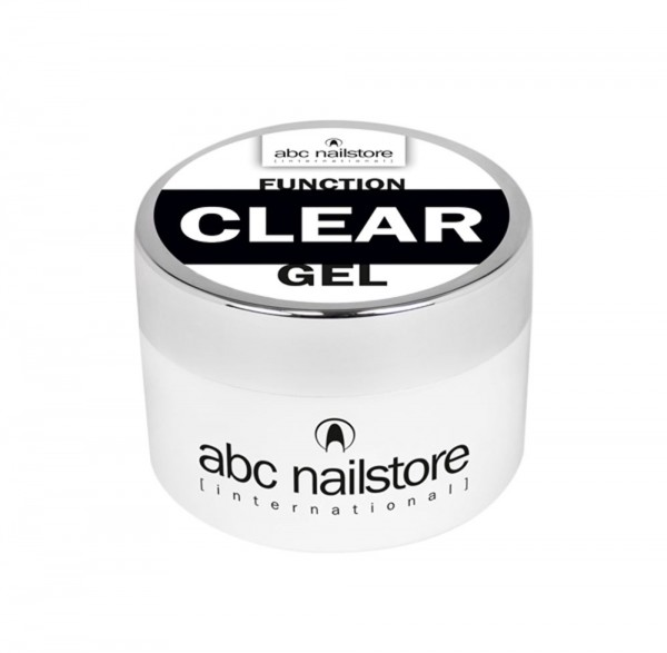 abc nailstore function clear gel, 100 g