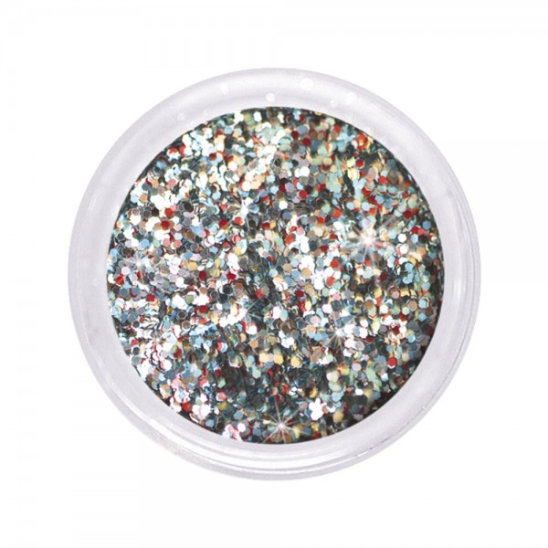dazzling glitter 0,6 mm, ice princess #116, 6 g