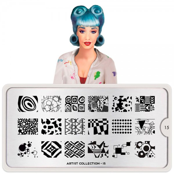 MoYou-London Schablone The Artist Collection 15