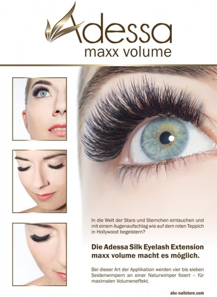 Poster Motiv Adessa maxx volume, DIN A1