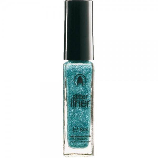 Glitterliner turquoise, 8 ml