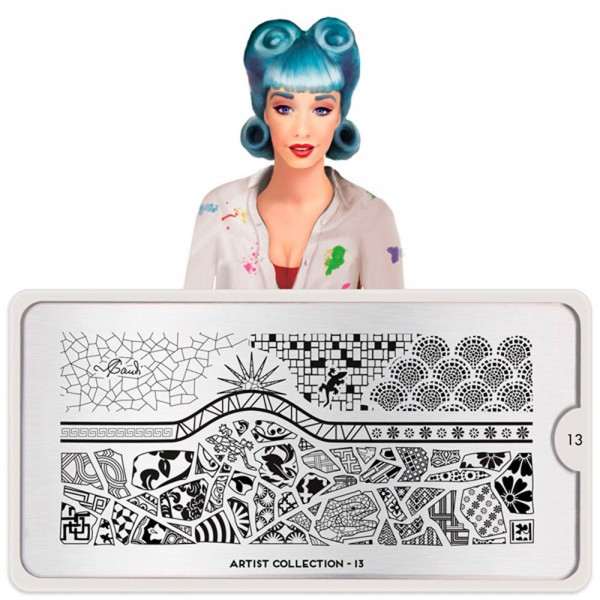 MoYou-London Schablone The Artist Collection 13