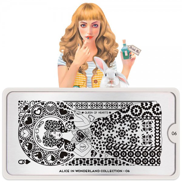 MoYou-London Schablone Alice Collection 06