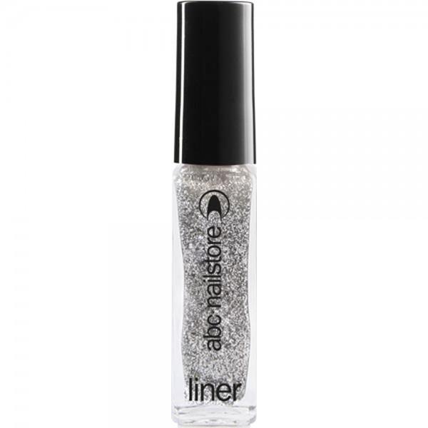 Glitterliner silver gritty, 8 ml