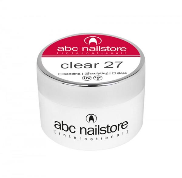 abc nailstore Modellagegel 27 clear, 15g