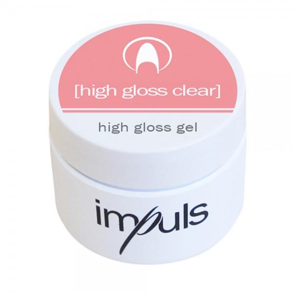 impuls high gloss clear, high gloss gel (non uv), 5 g