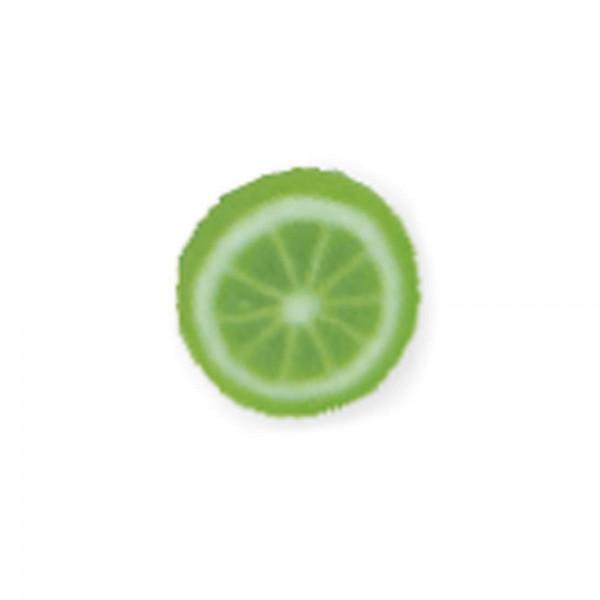 fimo fruits, green lemon