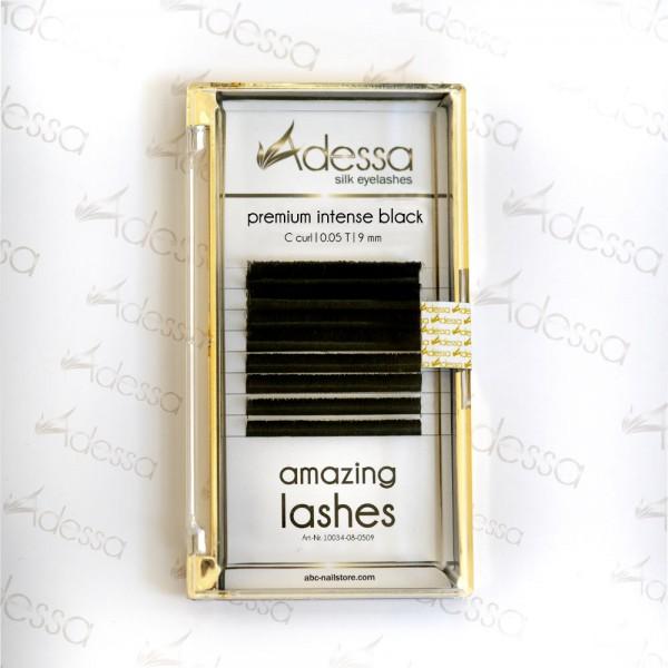 C curl, 0,05 Adessa amazing lashes black