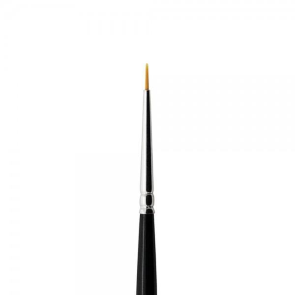 abc nailstore Dekorpinsel minor design #0, für Farbgel, Nagellack und Malfarben