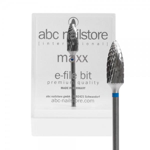 abc nailstore MAXX, Elektrofeilen-Aufsatz zum Abtragen und Kürzen von Gel und Acryl